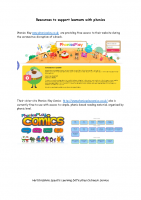 Free online resources to support learners with phonics