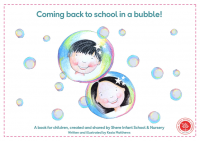 Coming back to school in a bubble A book for children-1
