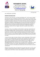 Outreach Newsletter April 2020
