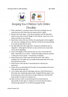 PARENTS and PUPILS_Keeping Your Children Safe Online Checklist